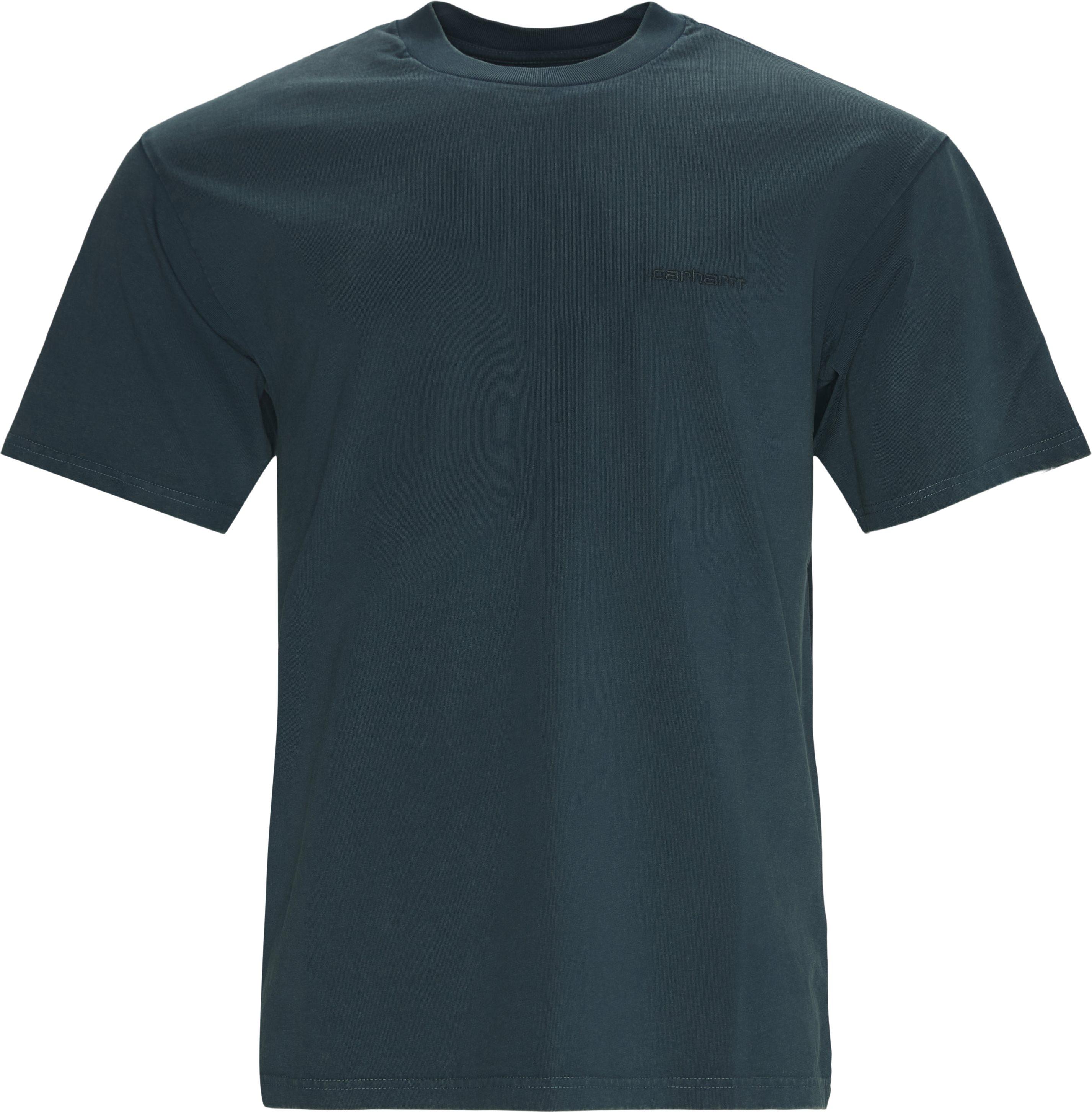 Mosby Script Tee - T-shirts - Regular fit - Blå